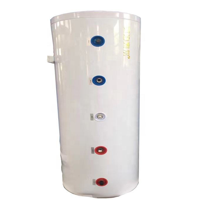 split 300L,400L,500L,750L,1000 L stainless steel solar boiler water tank with double coils