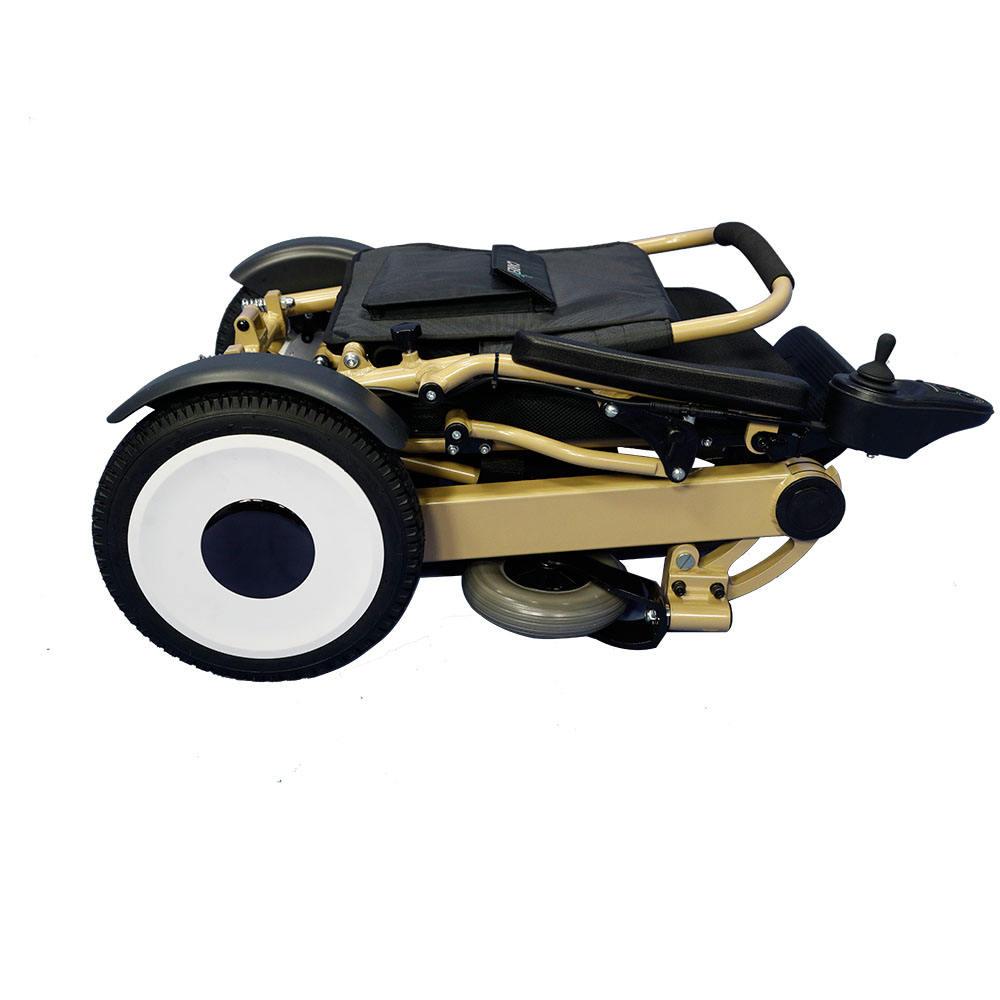 24 v Peso Leve Frame Projetos & <span class=keywords><strong>Bateria</strong></span> De Lítio & Dobra e Desdobra Rapidamente & Facilmente dobrável <span class=keywords><strong>cadeira</strong></span> de rodas elétrica