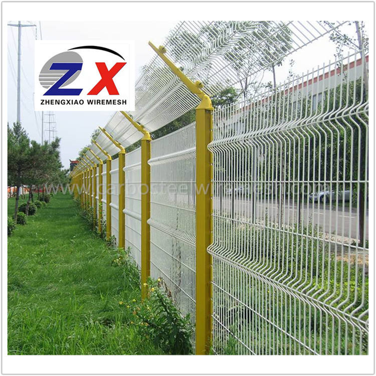 Wholesale Road isolation airport security fence, High quality welded wire mesh fence
