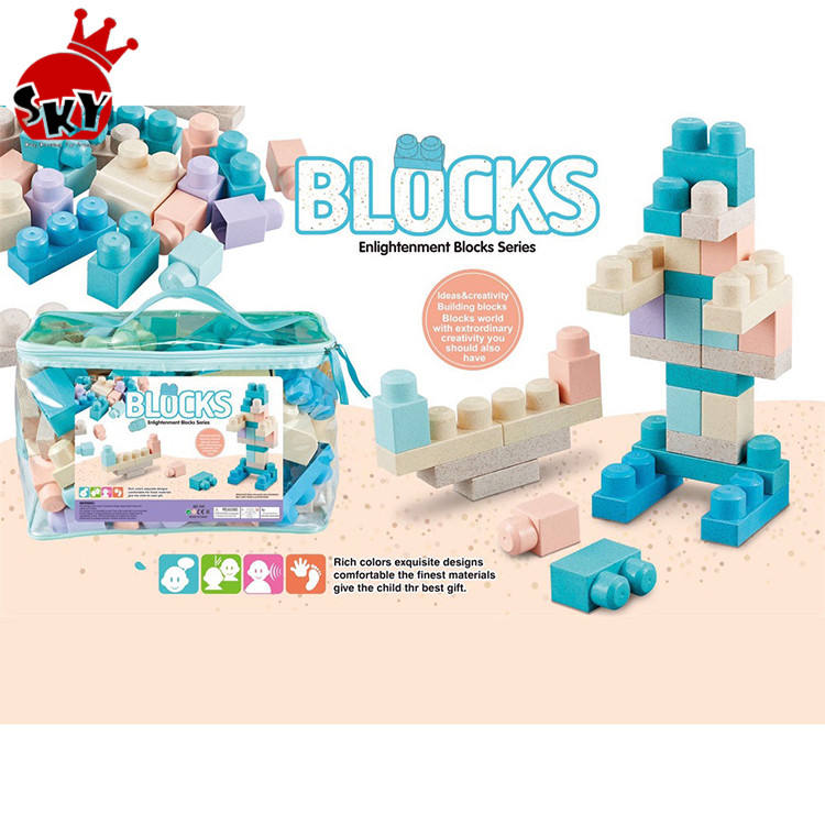 &Creative puzzle interesting many kid toys colours composite plastic cube building block