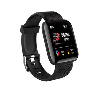Intelligent smartwatch promotion 2019 smart bracelet b6 sport fitness watch with pedometer monitor