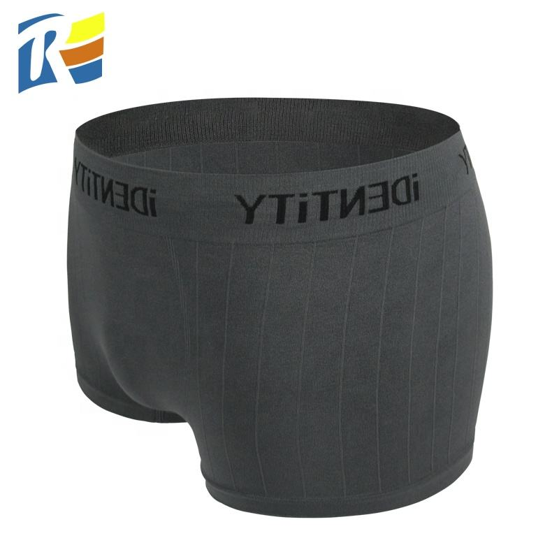 OEM Customized Cheap Price Men Seamless Boxer Short Sexy Tight Boxer Briefs Underwear For Male