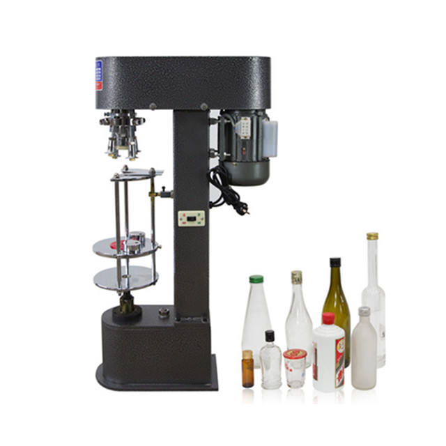 DK-50 semi automatic ropp cap Wine bottle screw cap machine