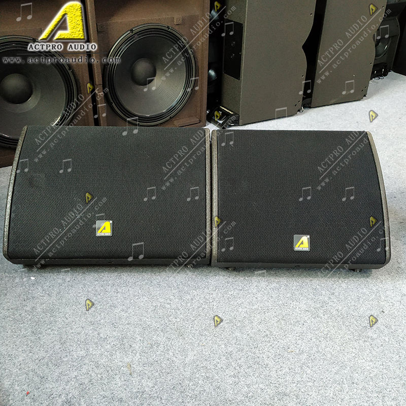 X15 15 inch active full range speaker x15 15 inch passive stage monitor professional sound system equipment