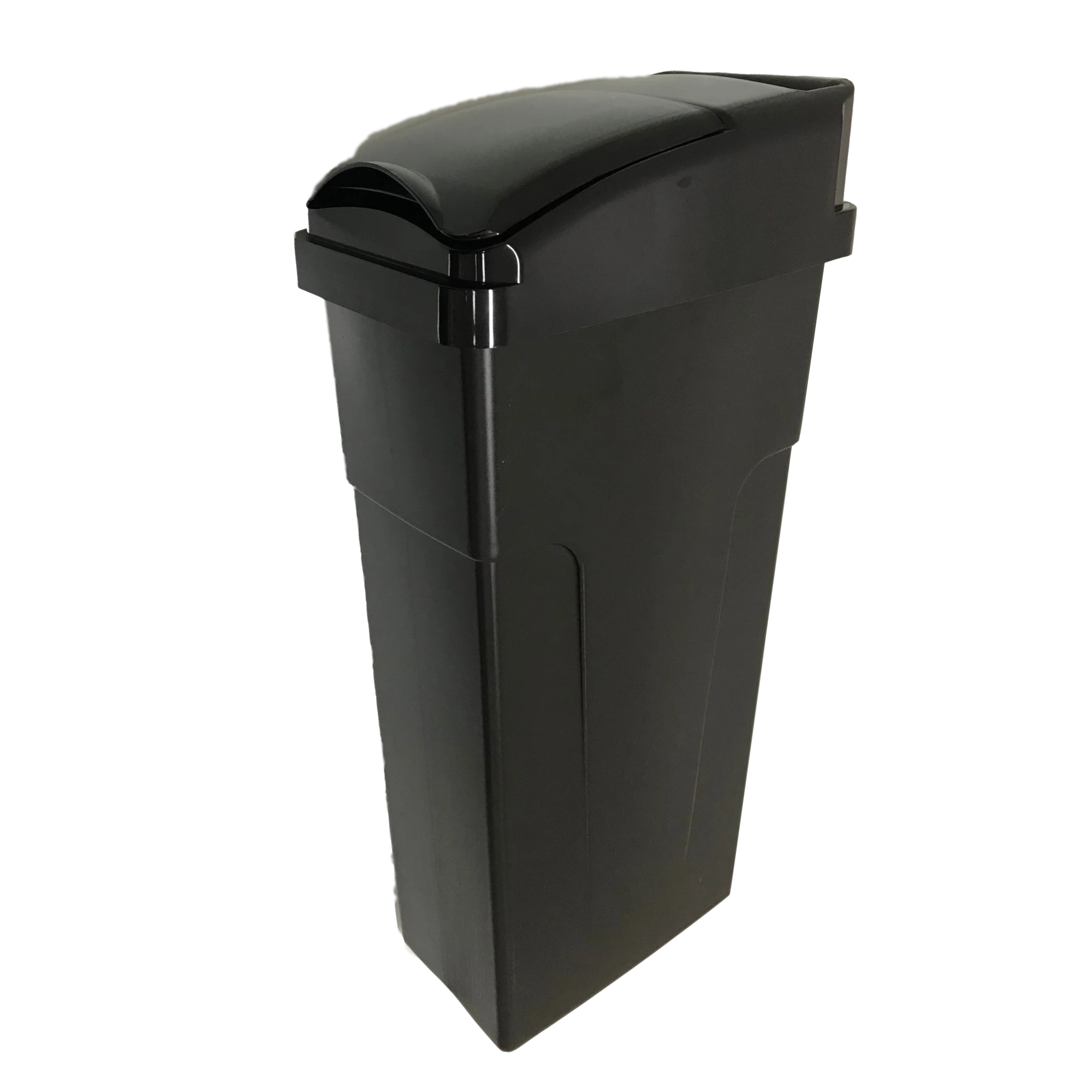 SB002 Bathroom Plastic Hygiene Female Lady Sanitary Bin Disposal 23L Black Nappy Trash Bin