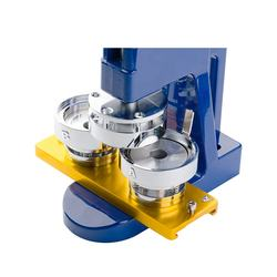 hot selling pneumatic badge making machine for making pin button name badge on hot sales