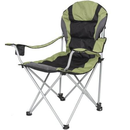 Tianye green chaise lounge folding armchair camping padded folding chair outdoor armrest chair