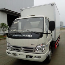 foton Dongfeng 5 Ton Van Cargo Truck Box Transportation Lorry For Sale