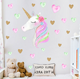 Hot Sell Wall Decals For Kids Girls Room Unicorn Wall Stickers