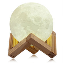Colors changing Creative hot selling festival gift warm full moon lamp with usb
