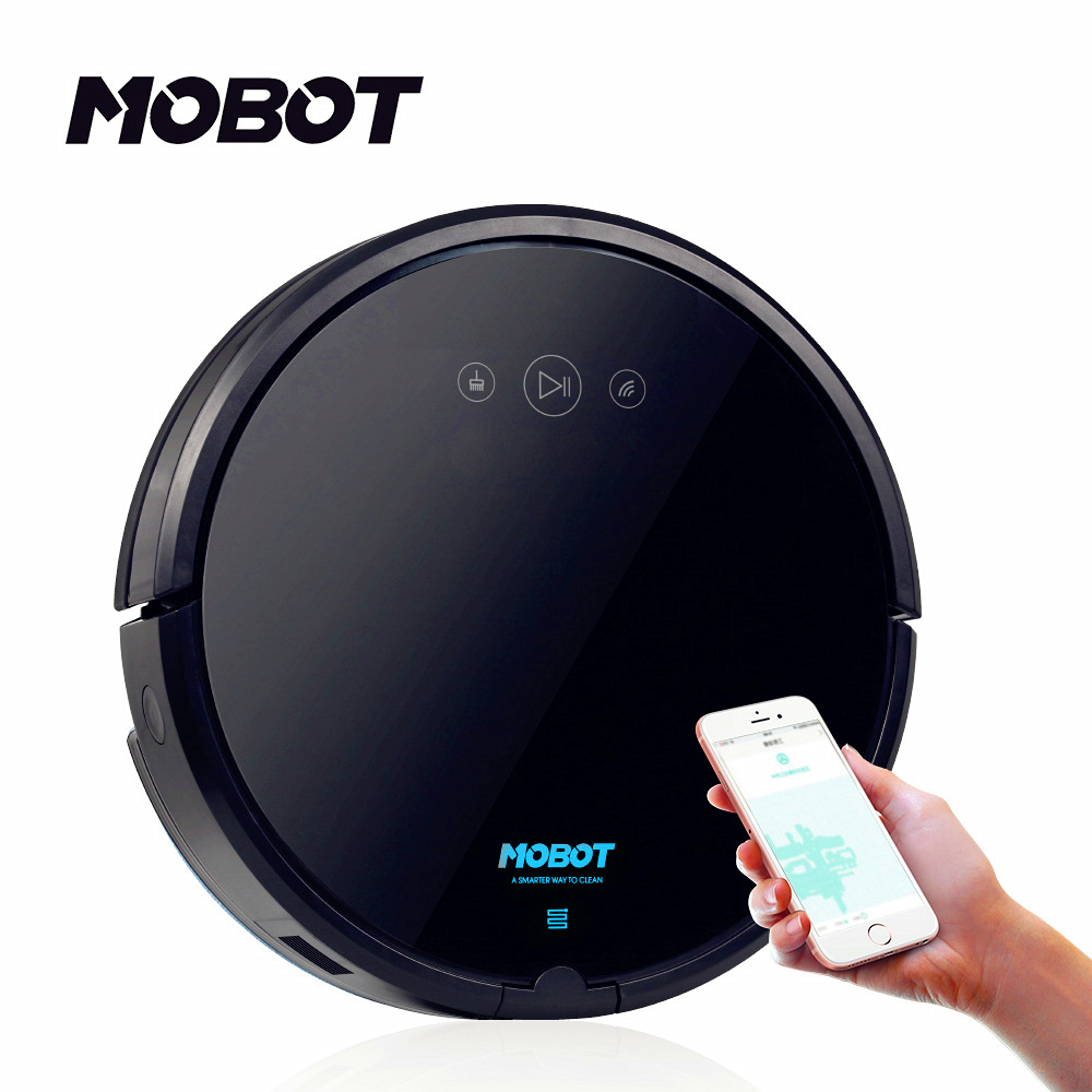 JSD Advanced Technics Newest Trending WiFi Brushless Motor Robot Vacuum Cleaner 2 in 1 Anti Collision Cleaning Machine Product
