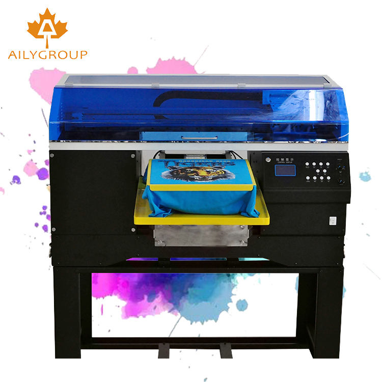 Garment Shops [ T Shirt Printing Machines ] T-shirt Printing Machine Digital Textile Custom Print T Shirt Custom Cotton Printing Machines Prices