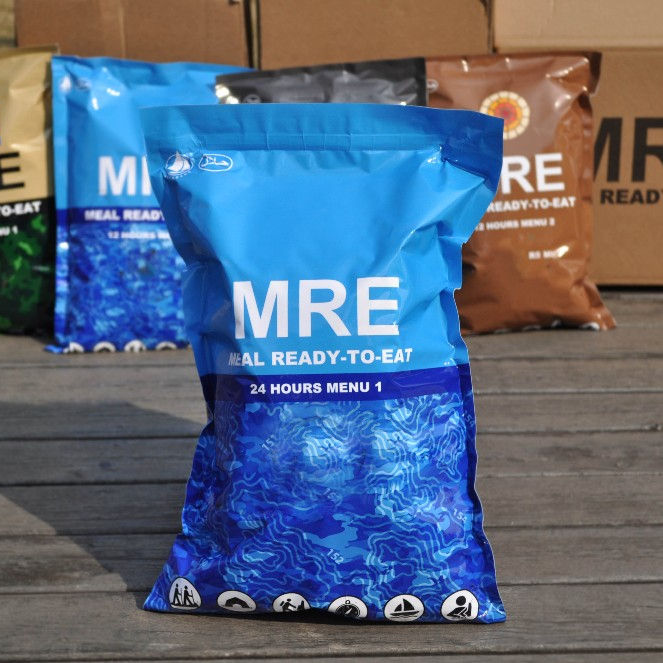 24 hour packs food ready to eat meal MRE