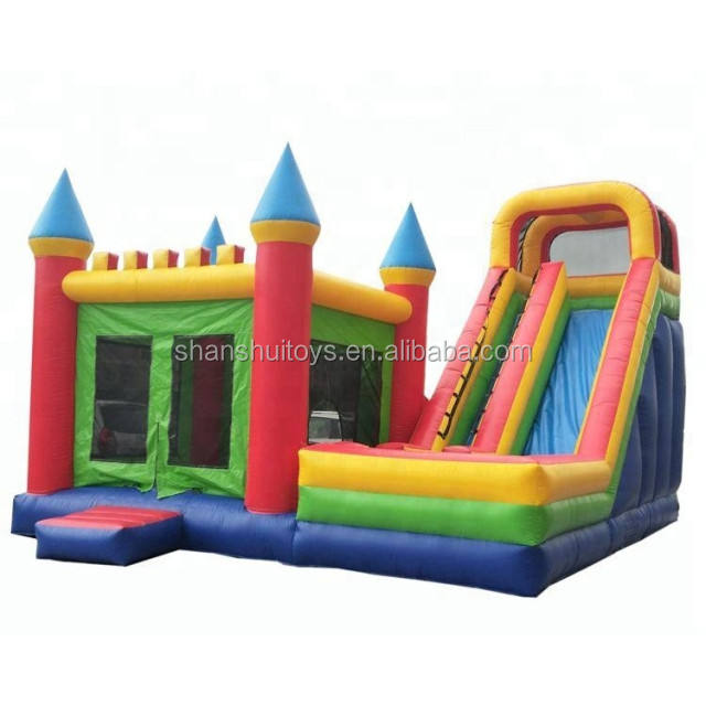 Outdoor Jumping castle inflatable, kids customized bouncer , high quality bouncy castle made in China