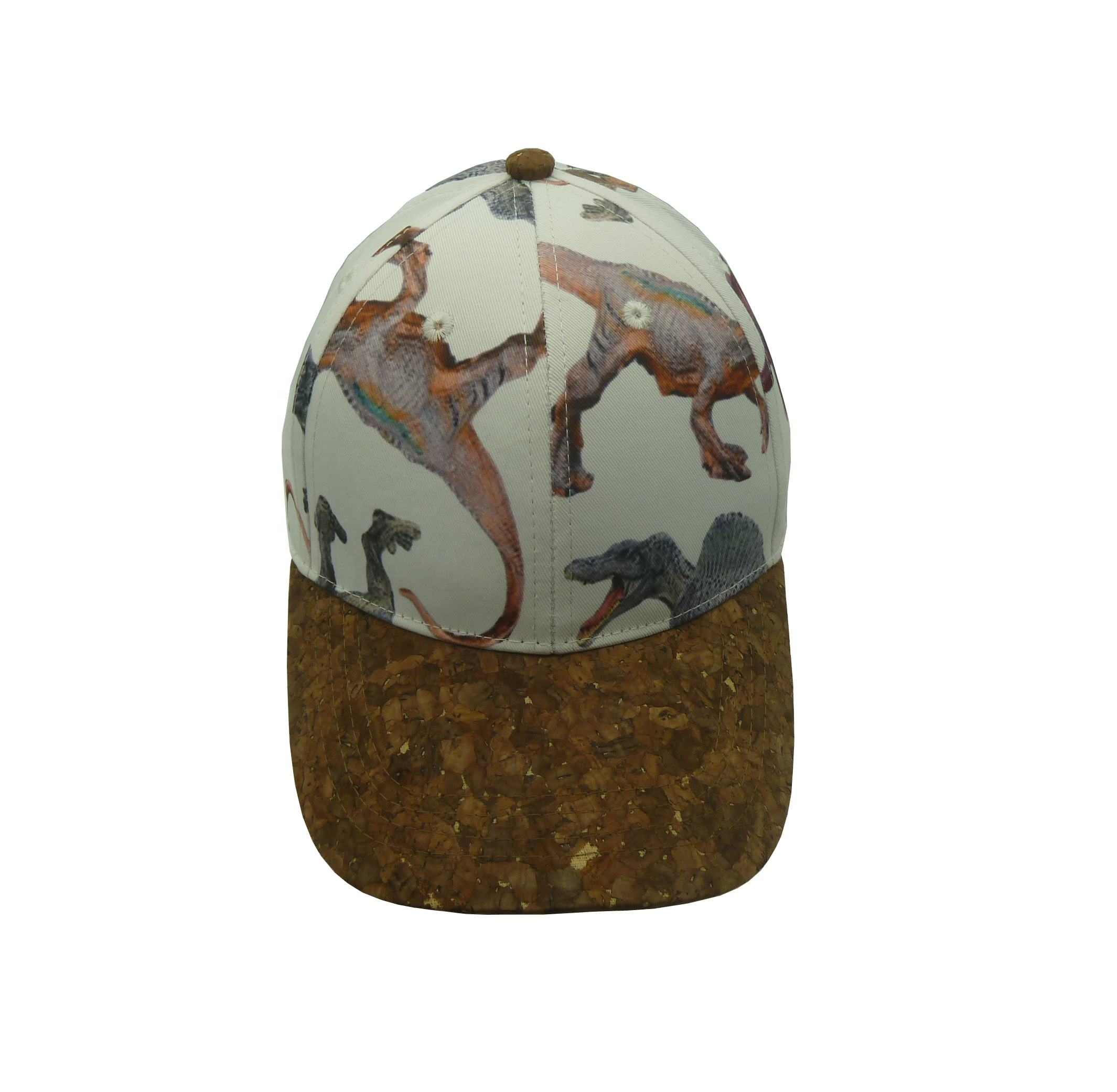 kids and children cork hats wholesale, cork brim dye printing children outdoor caps and hats