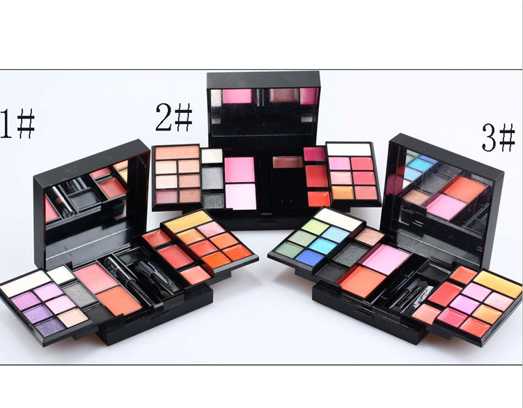 Dropshipping Makeup Kit 23 Warna Eyeshadow + Lipgloss + Blush Kosmetik Set