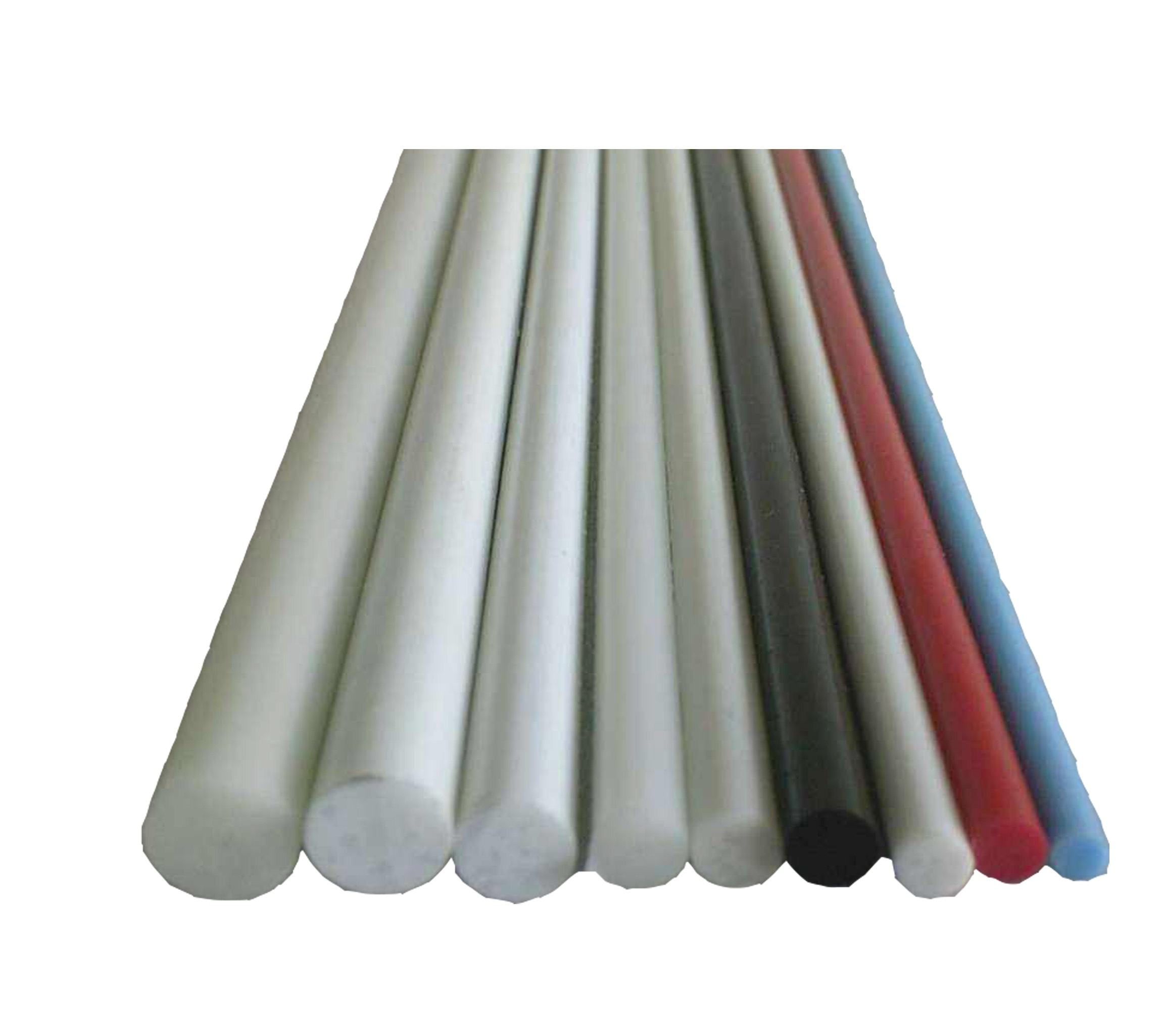 Fiberglass reinforced plastic stake for outdoor use in the agriculture industry