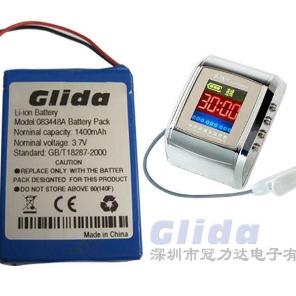 083448A 3.7 V 1400 mAh lithium battery pack đối với Laser điều trị cụ