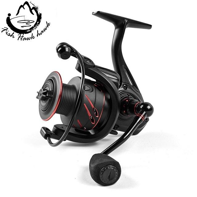 BaitCasting Reel 12+1BB Saltwater Spinning Carp Fishing Reel