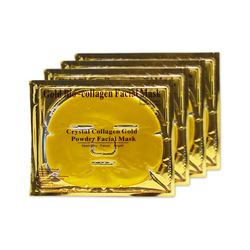 Private Label 24K Gold Collagen Crystal Facial Mask Firming Face Gel Mask