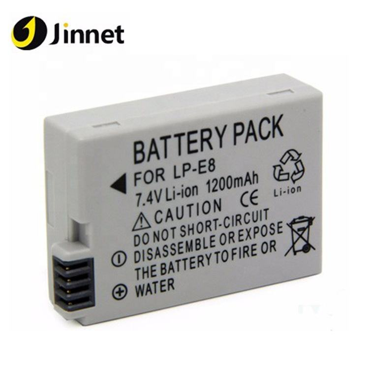 Jinnet Sostituzione Batteria Ricaricabile Batteria LP-<span class=keywords><strong>E8</strong></span> Per Can su <span class=keywords><strong>BG</strong></span>-<span class=keywords><strong>E8</strong></span> <span class=keywords><strong>Battery</strong></span> <span class=keywords><strong>Grip</strong></span>