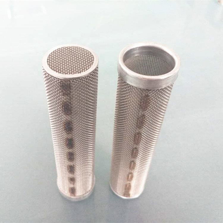 Customized stainless steel rigid metal mesh tube