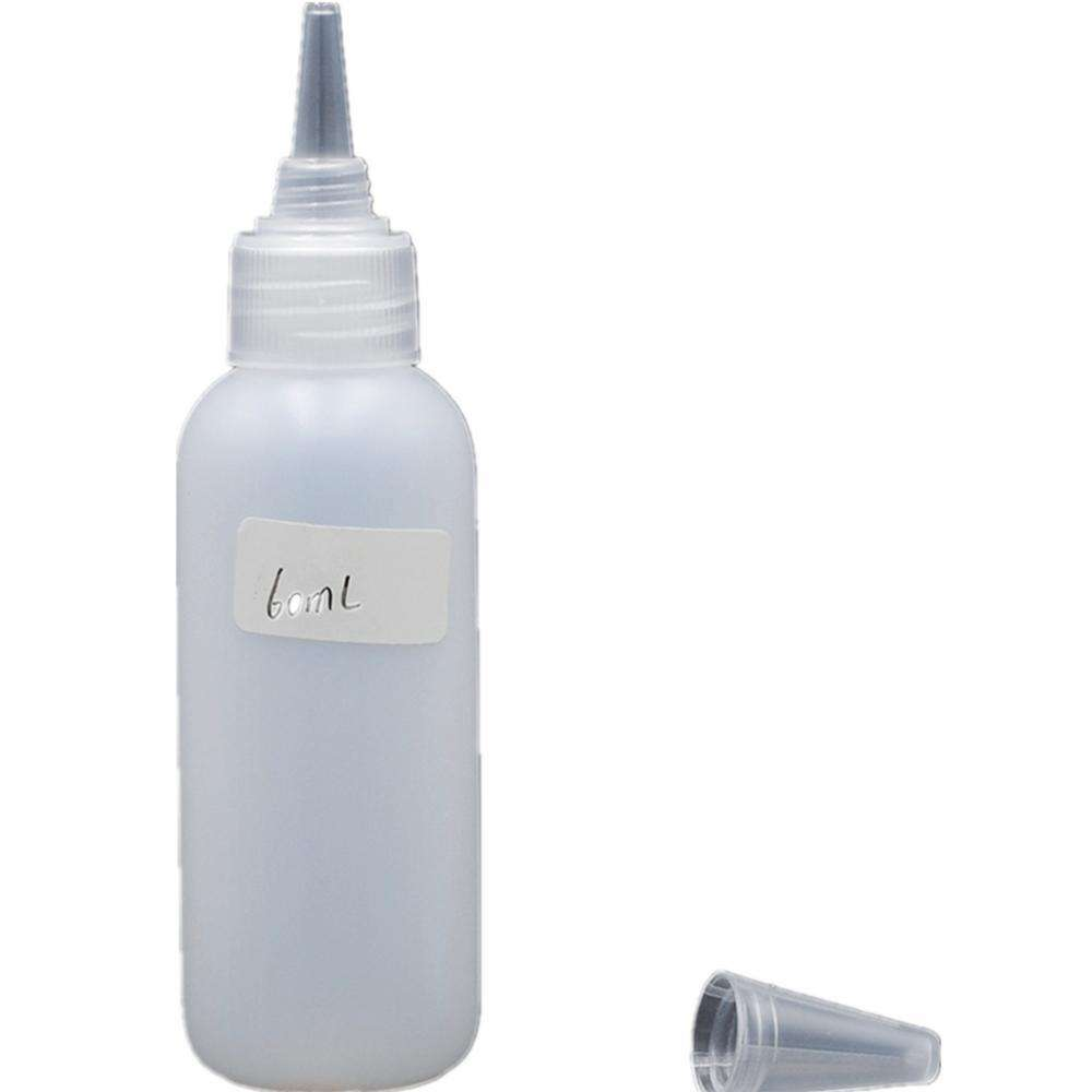 120ml 180ml 240ml hair oil packing applicator ldpe dispenser bottle for Spa and Salon Containers