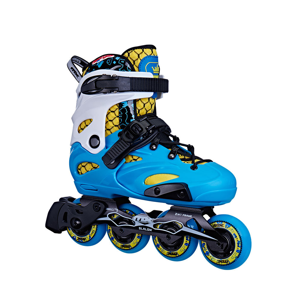 Aggestive スケートホイール卸売フレームスケートスピードインラインスケート