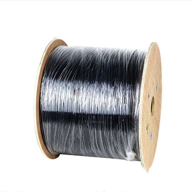 G675A 1 2 4 core Indoor Ftth Drop Fiber Optical Cable