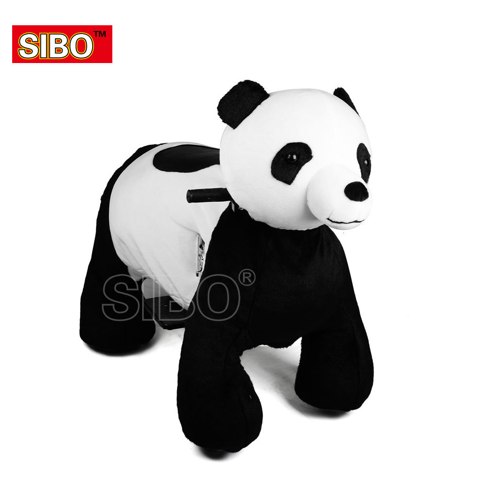 Sibo electronics plush animal electric scooter coin operated rides in the mall cover