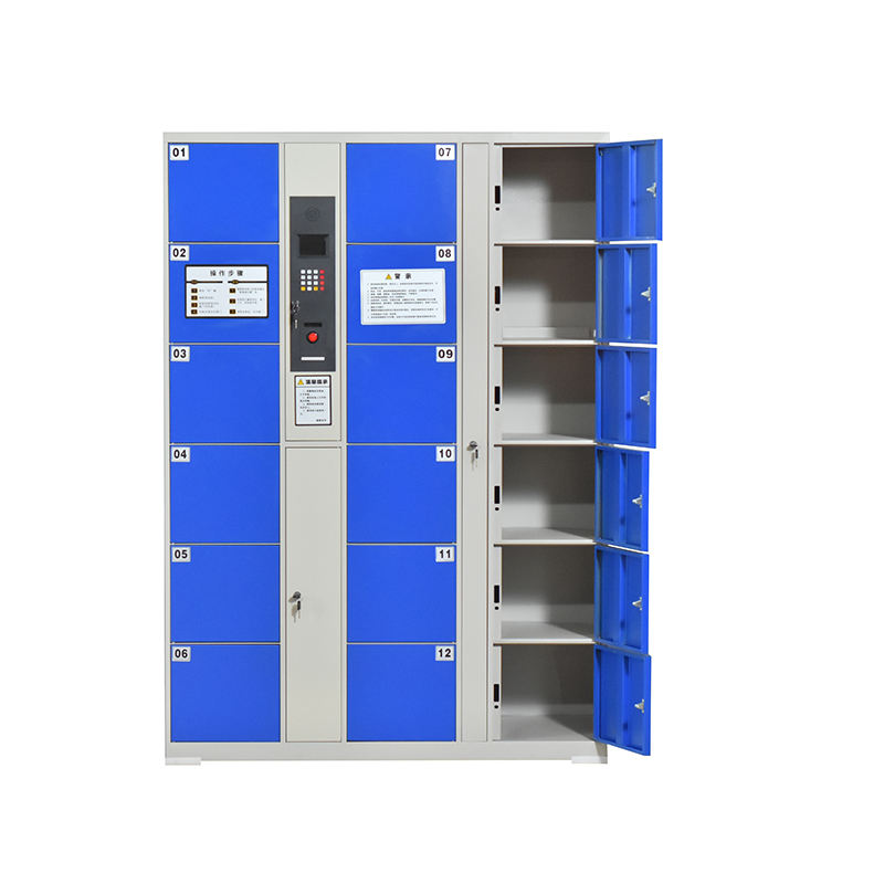 KD structure storage cabinet smart parcel electric locker
