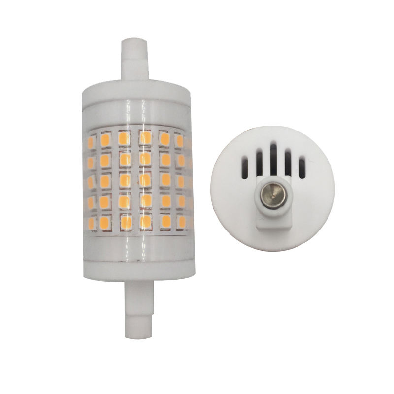 10 w led rx7s 78mm lampara linear llevada led r7s