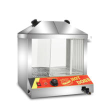 warmer display snacks food warmer showcase for sale