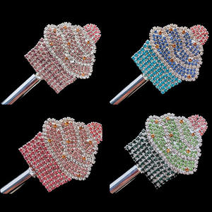 컵에게 컵 Shape Scepters 대회 석 Wholesale Customize Crystal Miss World Wand