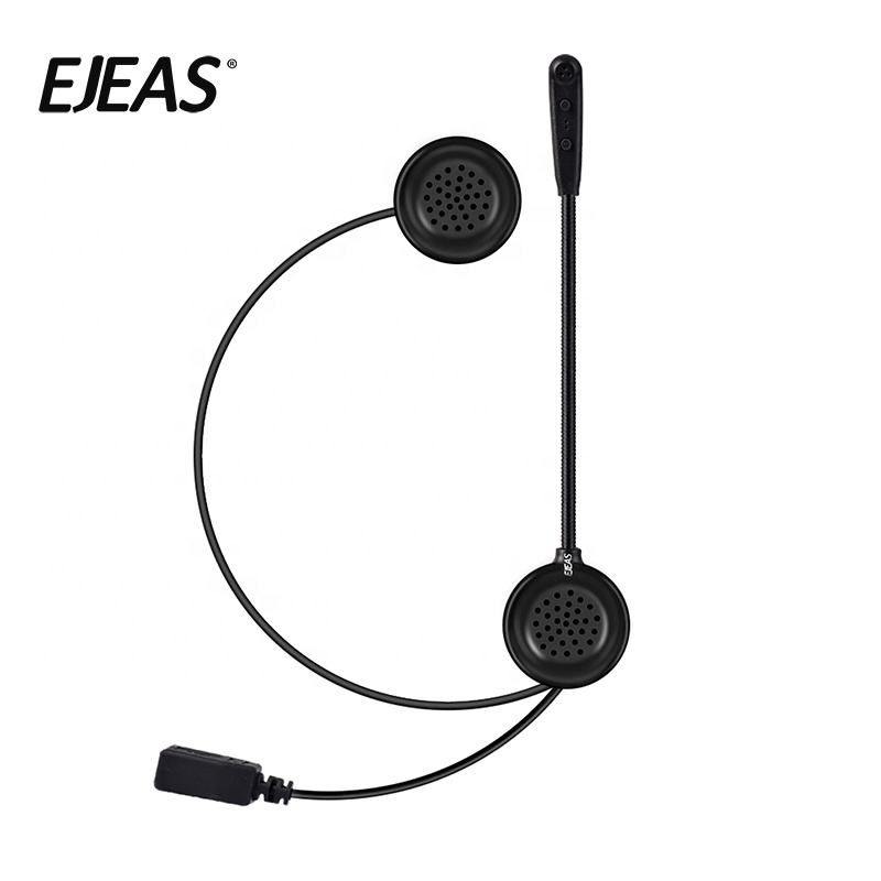 Ejeas motorcycle bluetooth helmet headset speakers with best sound quality