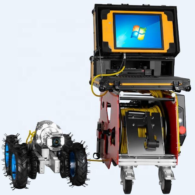120 m cámara de inspección pozo + 12.1 pulgadas pantalla LCD, cámara de alcantarillado usado para la venta