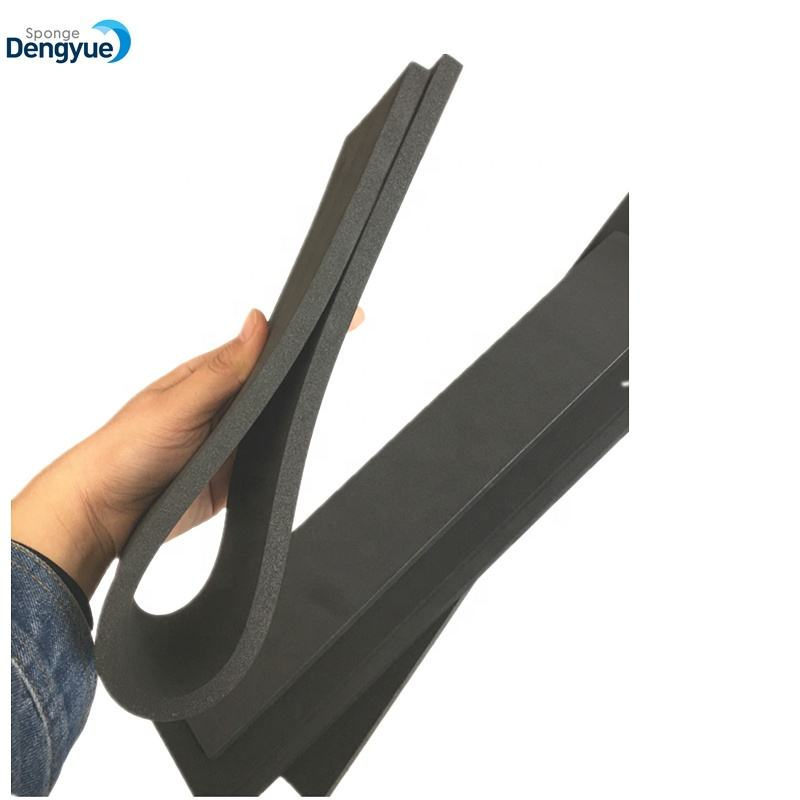 heavy straight metal floor rubber squeegee Curved Floor Squeegee with rubber blade