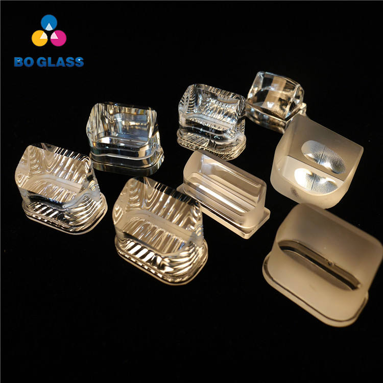 Customized Airport Runway Lighting Borosilicate Glass Lens Optical Glass Prism