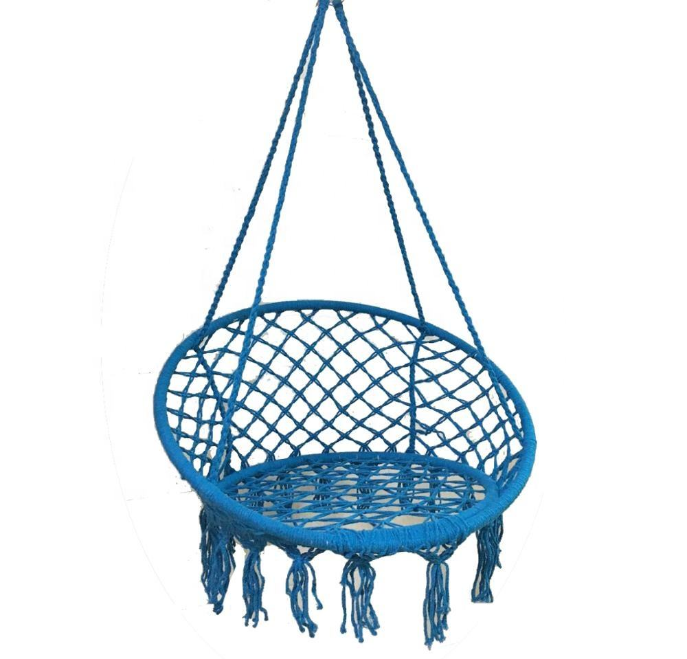 Garden Knotted Rope Patio Swing