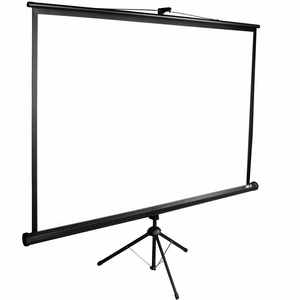 Portable Fast Fold Standard Tripod budget Screen with OEM/ODM office equipment stand meeting room home theater outdoor