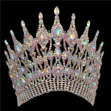 Wholesale Miss World Beauty Pageant Crown Custom Tiaras Contour Band Crowns