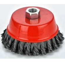 Flat Steel Wire Disc Brush Wire Wheel For Polishing