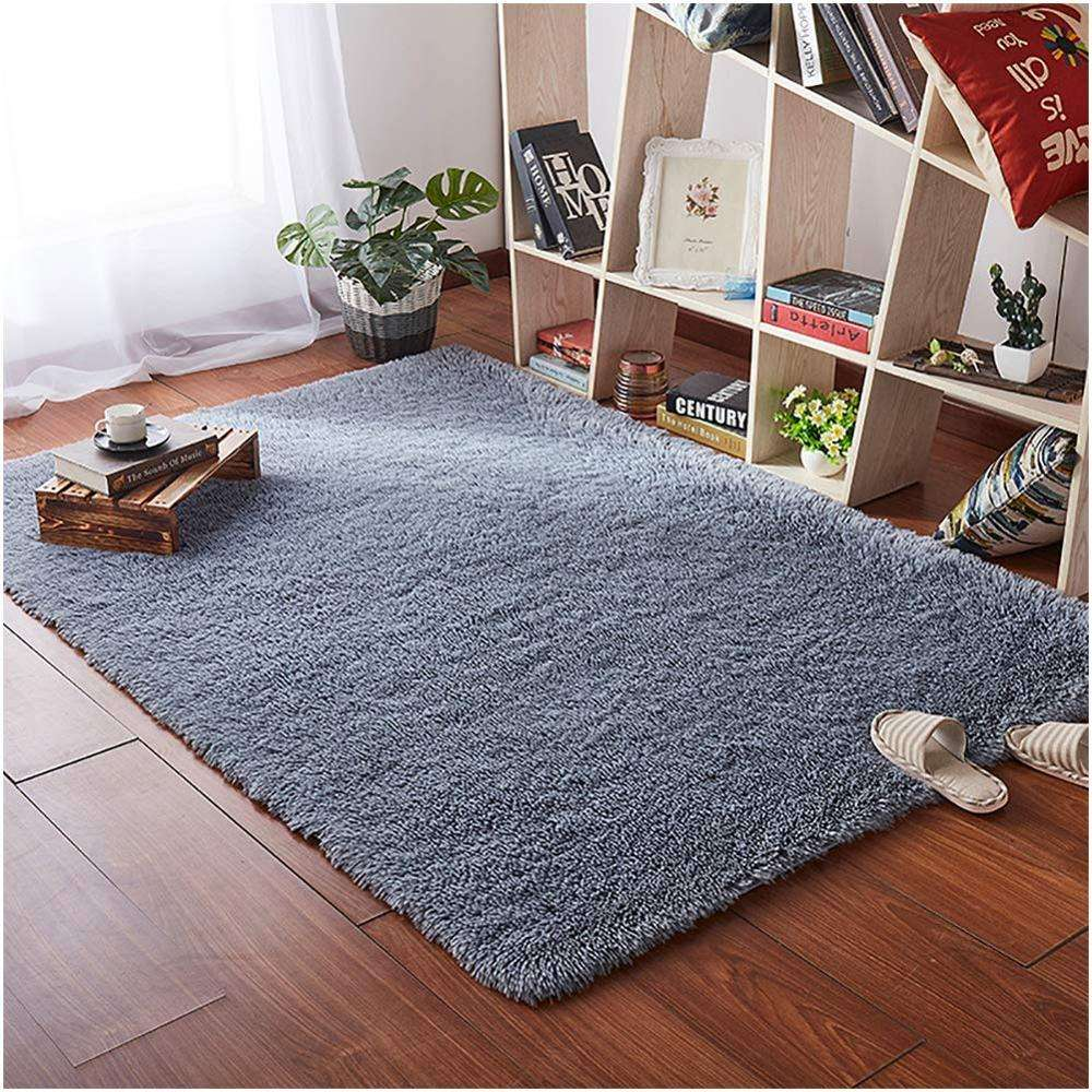 High Quality Multifunctional Long Pile Shaggy Silk Carpet