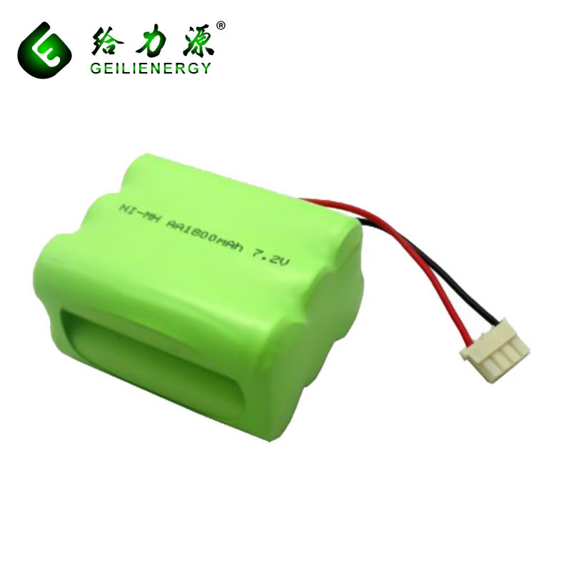 Rechargeable AA 1800mah 7.2V Nimh Battery Pack For Power Tools