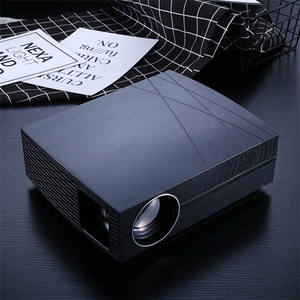 Portable Multimedia Projector Home Cinema Projector 3d Movie Projector for Home