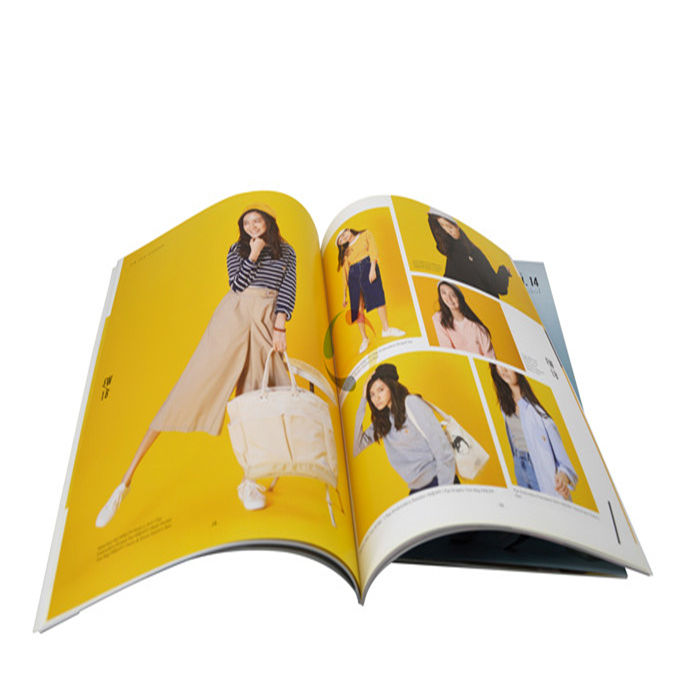 Low cost softcover book printing,custom color offset printing design service catalog booklet brochure magazine book printing