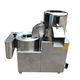 The high speed potato peeling and slicing machine/sweet potato peeler and slicer machine