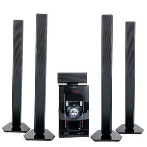 Portable powerful hi-fi dvd music speaker 5.1 home theater with 100W