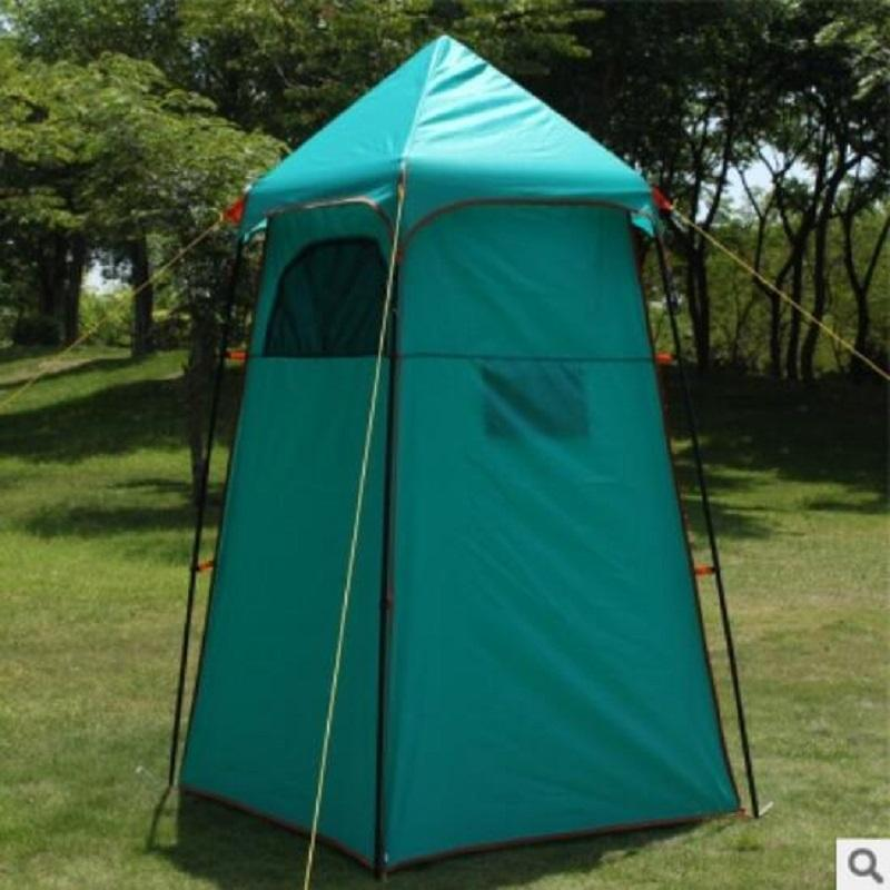 Portable Camping Toilet Instant Shower Tent Privacy Shelter Tent Outdoor Folding Away Mobil Changing Room