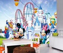 Cartoon Castle wallpaper kids room wallpaper kids cartoon murals wallpaper